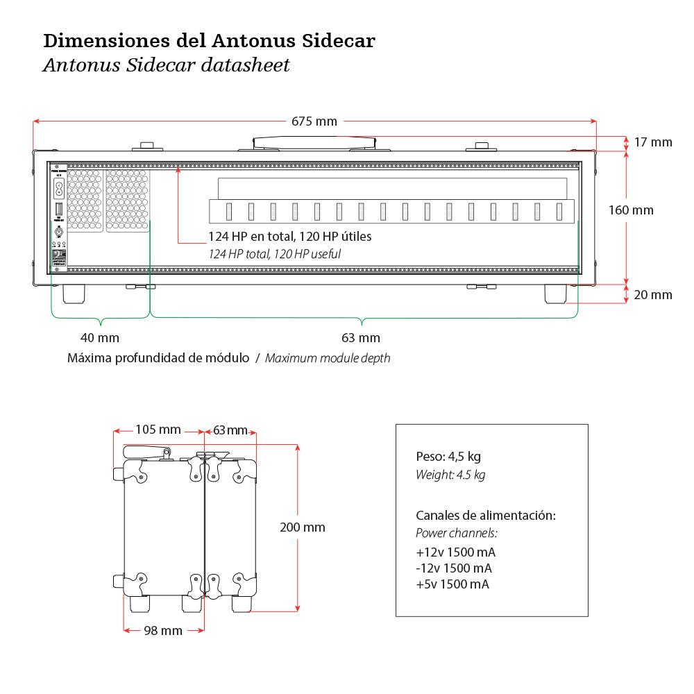 Dimensiones Sidecar.ai